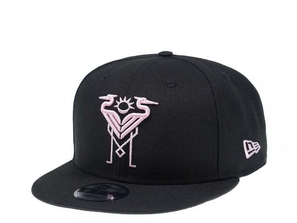 New Era Inter Miami FC Black Edition 9Fifty Snapback Cap