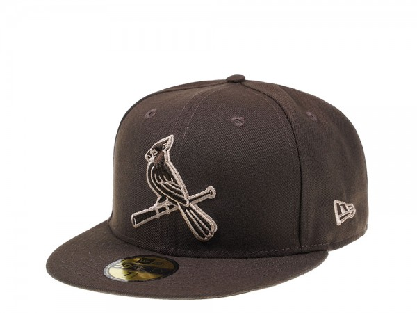 New Era St. Louis Cardinals Walnut Edition 59Fifty Fitted Cap