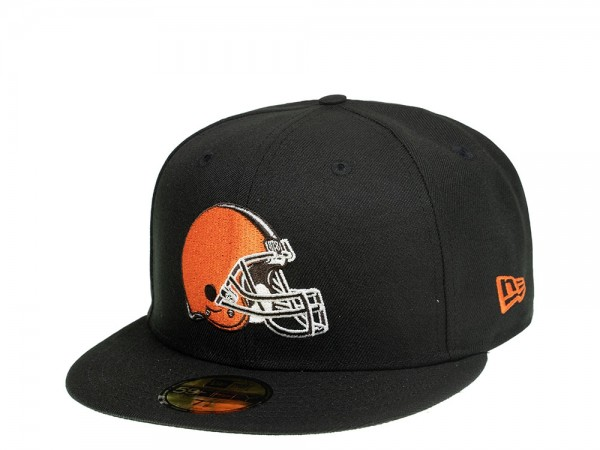 New Era Cleveland Browns Black Edition 59Fifty Fitted Cap
