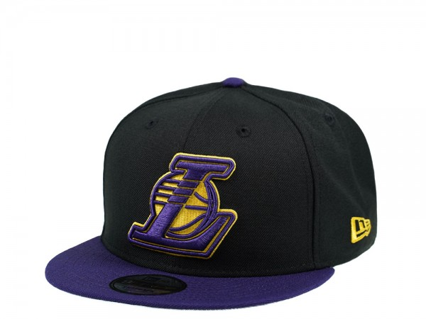 New Era Los Angeles Lakers Purple and Black Edition 9Fifty Snapback Cap