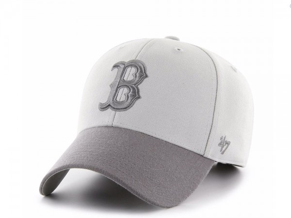 47Brand Boston Red Sox Steel Grey MVP Snapback Cap