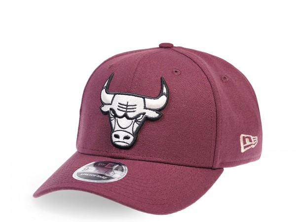 New Era Chicago Bulls Maroon Edition 9Fifty Stretch Snapback Cap