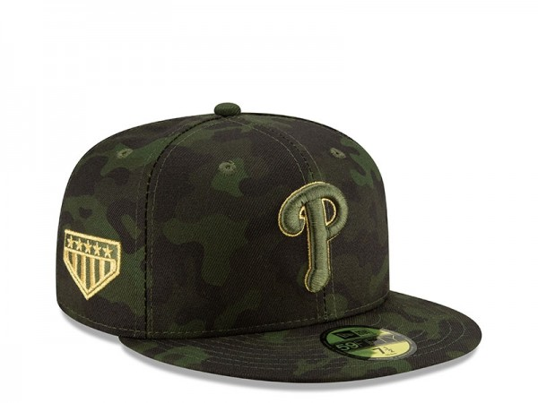 New Era Philadelphia Phillies Armed Forces Day On Field Fitted 59Fifty Cap