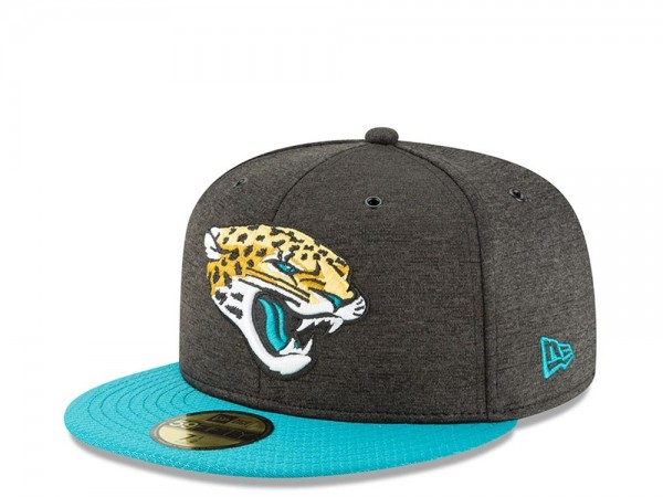 New Era Jacksonville Jaguars Sideline Cap 2018 Home Fitted 59fifty