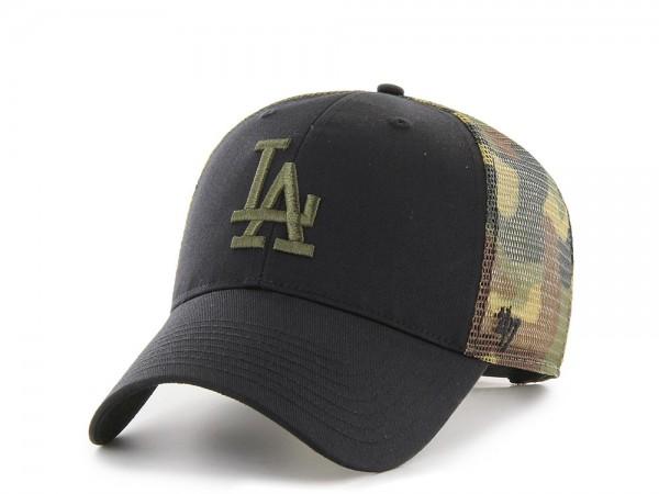 47brand Los Angeles Dodgers Black Back Switch Snapback Cap