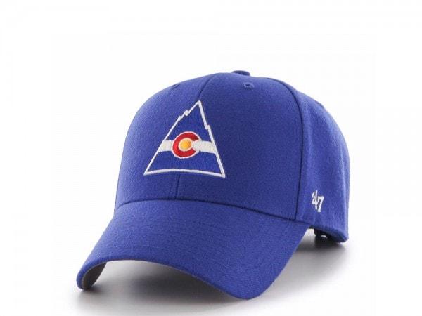 47Brand Colorado Rockies Vintage MVP Strapback Cap