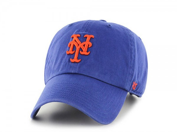 47brand New York Mets Clean up Strapback Cap
