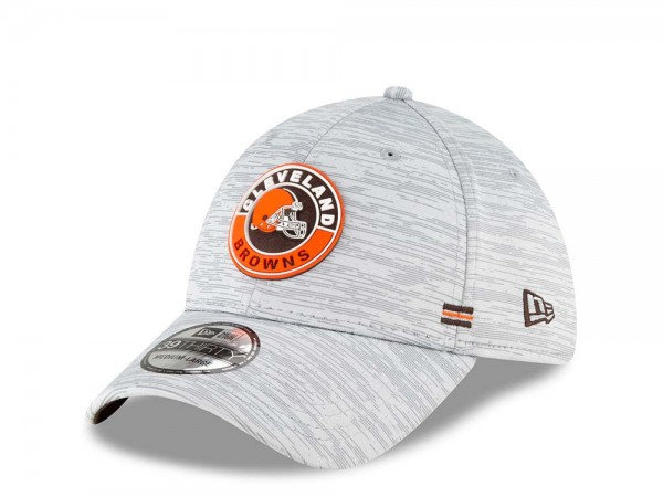 New Era Cleveland Browns Fall Sideline 39Thirty Stretch Cap