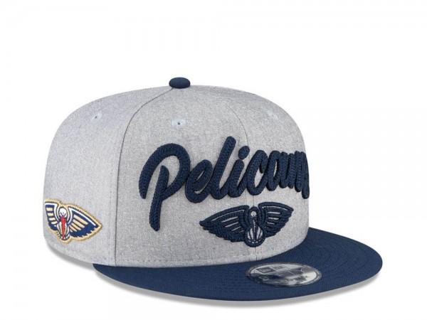 New Era New Orleans Pelicans NBA Draft 20 9Fifty Snapback Cap