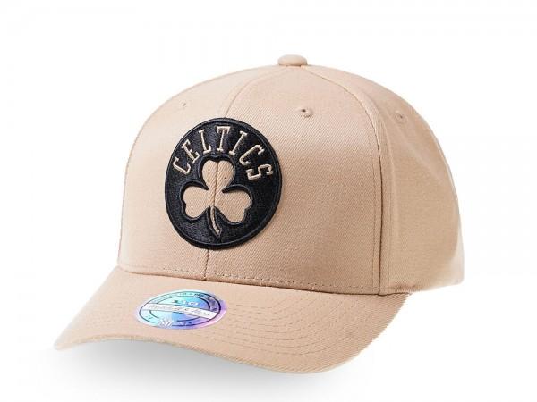 Mitchell & Ness Boston Celtics Tan 110 Flex Snapback Cap