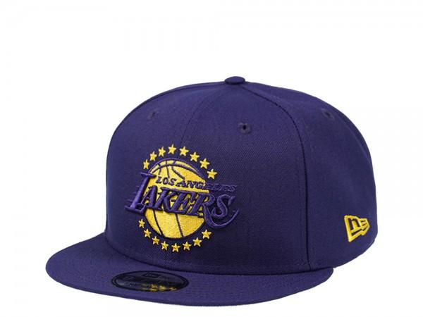 New Era Los Angeles Lakers Purple Prime Edition 9Fifty Snapback Cap